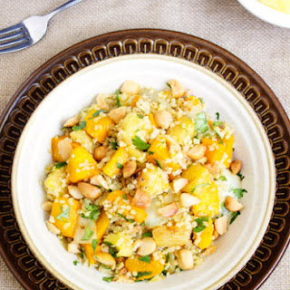 Tropical Squash & Quinoa Bowl {Gluten Free & Vegetarian}