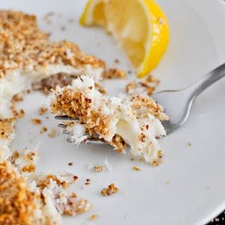 Macaroon Crusted Tilapia.