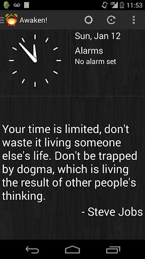 Awaken Alarm Clock Free