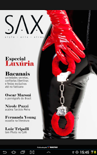 SAX Magazine- screenshot thumbnail