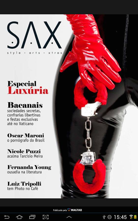 SAX Magazine- screenshot