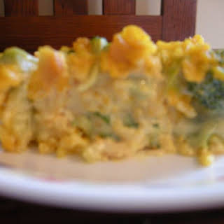 Cheesy Chicken and Broccoli Casserole.
