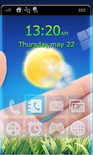 透視手機透明屏幕豪华版 Transparent Phone
