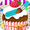 Cupcake Coloring Book icon