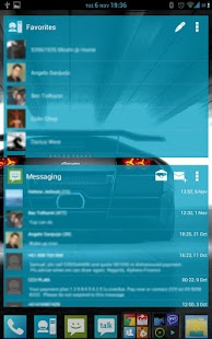 APW Theme 192 ICS/JB Blue - screenshot thumbnail