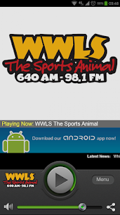 WWLS The Sports Animal - screenshot thumbnail