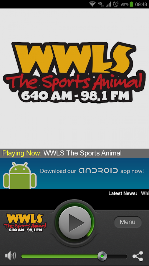 WWLS The Sports Animal - screenshot
