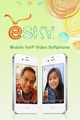 eSky Mobile VoIP Video SMS- screenshot