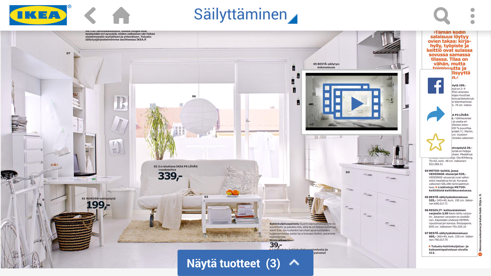 IKEA kuvasto  Android sovellukset Google Playssa
