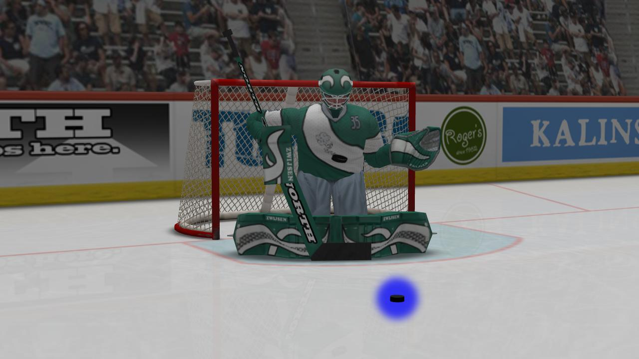 Virtual Goaltender Lite - screenshot