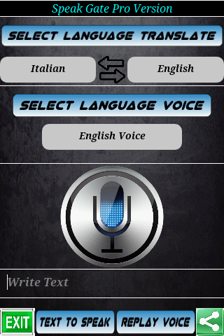 Speak Gate Pro Traduttore Voce