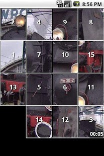 Train Slide Puzzles iSlider