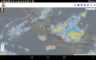 Screenshot of ClimaYa Latin America Weather