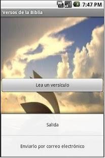 Versos de la Biblia Libre - screenshot thumbnail