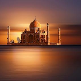 taj mahal by Christian Heitz - Buildings & Architecture Public & Historical (  )