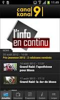 Screenshot of Canal9
