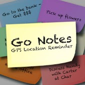 GoNotes GPS Location Reminders