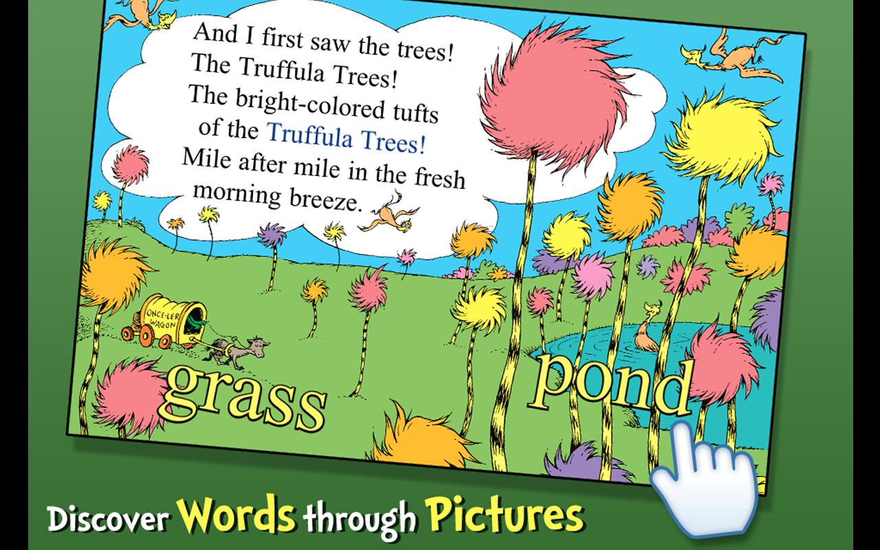 The Lorax - Dr. Seuss- screenshot