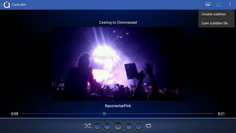 Avia Media Player (Chromecast) Screenshot 21
