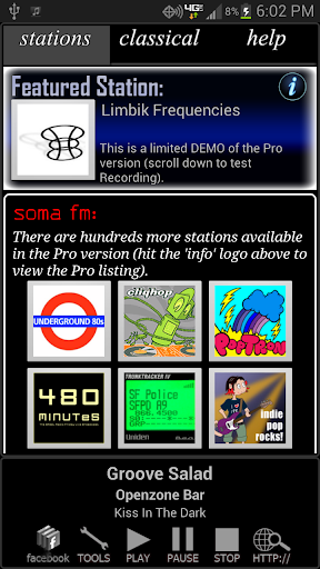 Internet Radio Recorder Demo