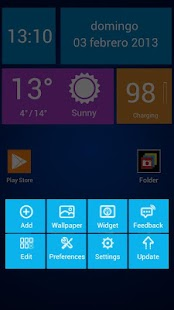 Next Launcher Theme WinTiles 8 - screenshot thumbnail