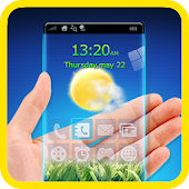 Transparent Screen Launcher HD