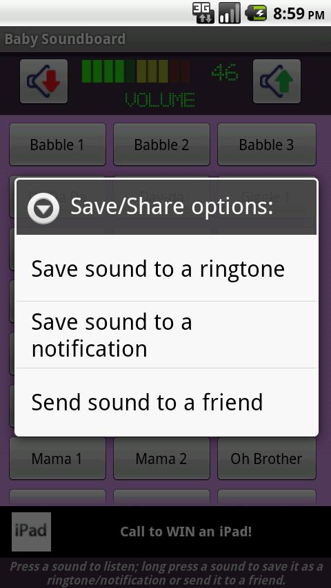 Baby Sounds & Ringtones - screenshot