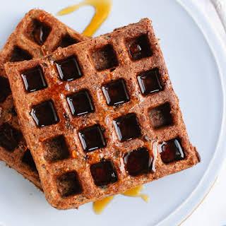 Gluten-Free Buckwheat Waffles.