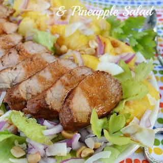 Asian Pork Tenderloin and Pineapple Salad