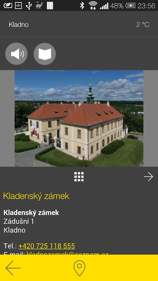 Kladno - audio tour- screenshot