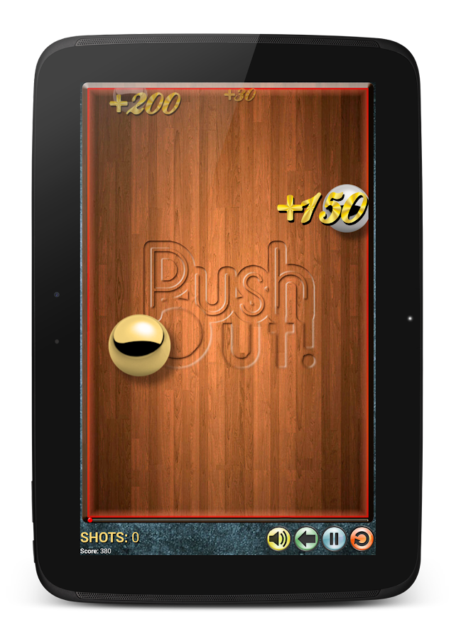 PushOut! inspired by Billiards - screenshot