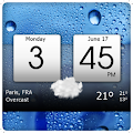 App Digital clock & world weather APK for Kindle