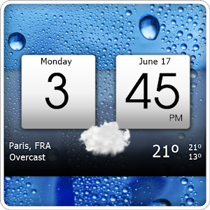 Clock & world weather widget with skins, dynamic location and much more APK Icon