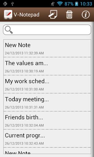 V-Notepad