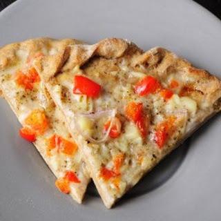 Coconut and Garlic White Pizza