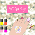 Foot Spa Magic game for kids icon