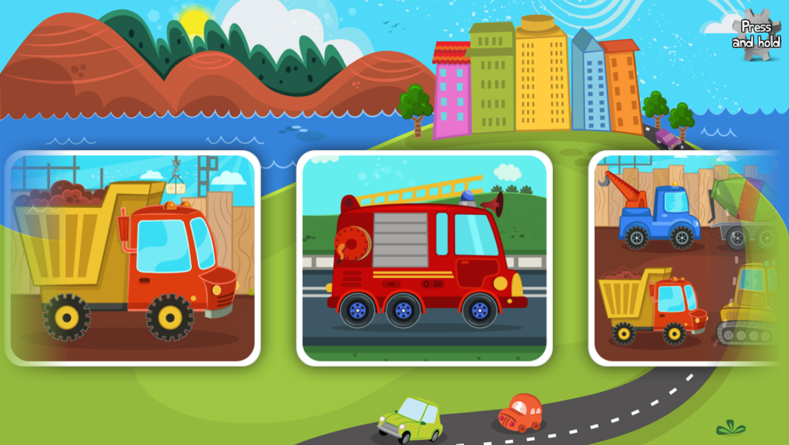cars trucks puzzle for kids android apps on google play. Black Bedroom Furniture Sets. Home Design Ideas