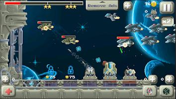 Screenshot of Deep Space Tower Defense