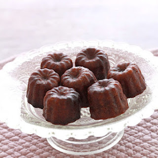 Chocolate Caneles (fluted Chocolate Cakes).