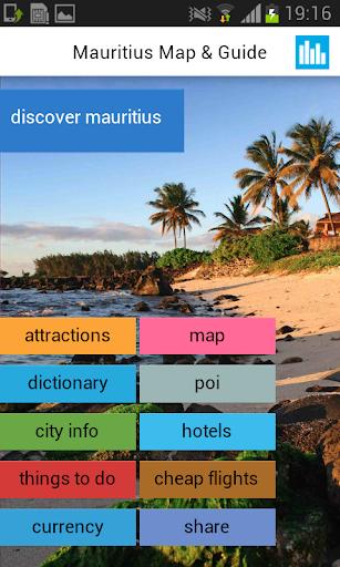 毛里求斯离线地图与指南