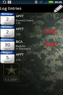 Army PFT- screenshot thumbnail