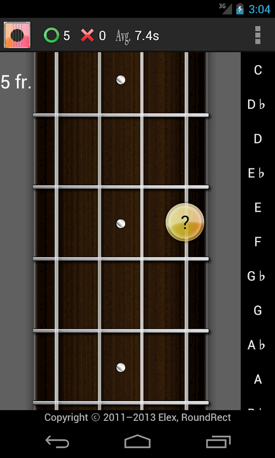 Ukulele Chord, Scale, Tuner LE - screenshot