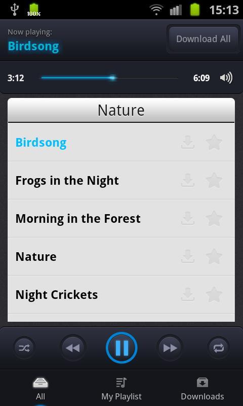 Sleep Sounds PRO - screenshot