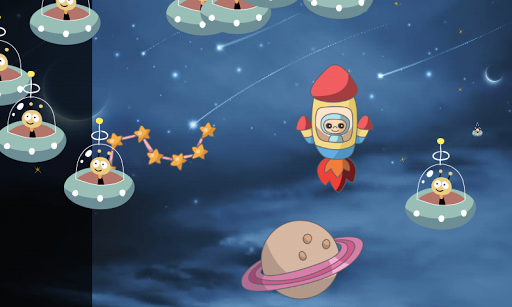 玩免費教育APP|下載幼児のための宇宙船のパズル ! app不用錢|硬是要APP
