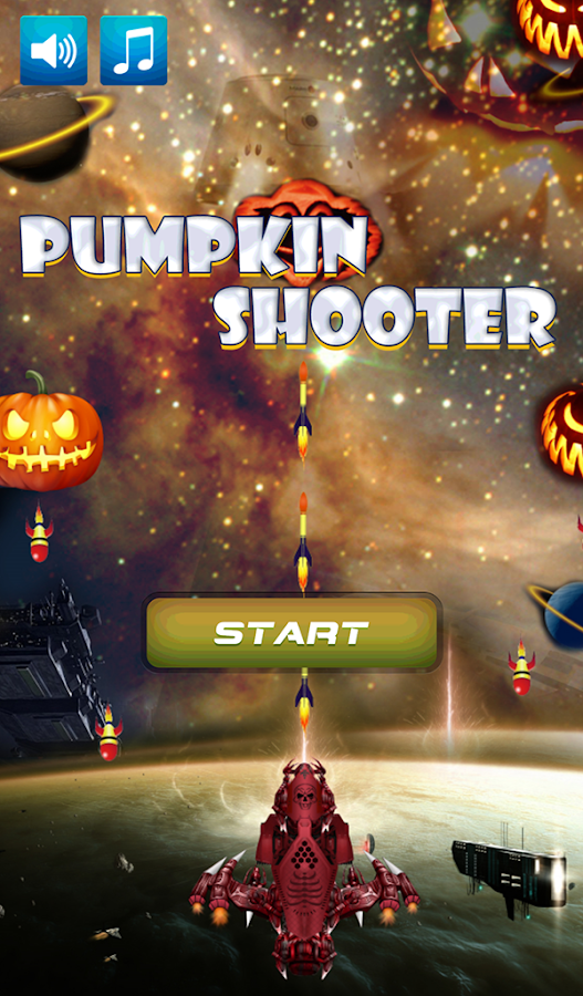 Halloween Pumpkin Shooter- screenshot