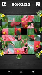 Exciting Puzzle - Flowers- screenshot thumbnail