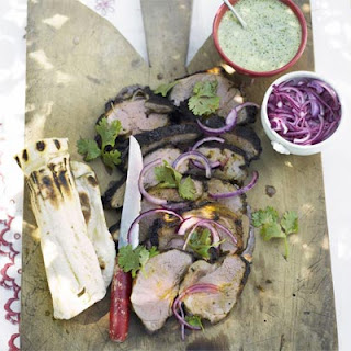 Indian Spiced Barbecued Lamb Recipe