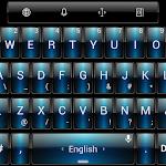 Theme TouchPal Dusk Blue