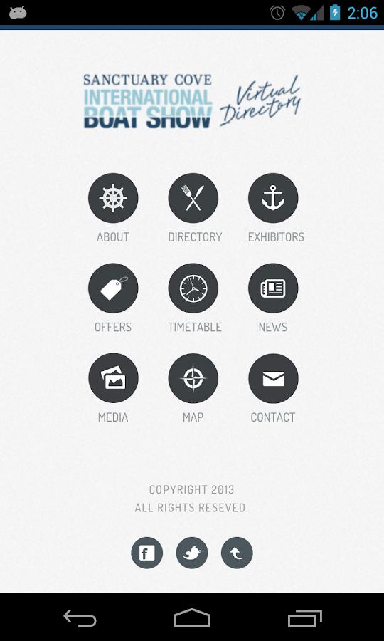 SCIBS 2013 - screenshot