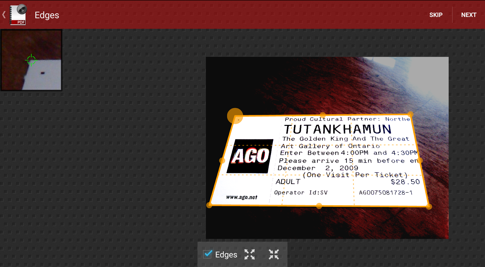 Droid Scan Lite - screenshot